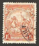 Sellos de America - Barbados -  carroza real