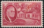 Stamps United States -  Presidente Roosevelt