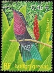 Stamps France -  Aves - Colibrí Granate