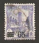 Stamps : Africa : Tunisia :  mezquita de halfaouine