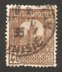 Stamps : Africa : Tunisia :  mezquita