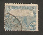 Stamps : Africa : Tunisia :  Trabajando el campo