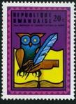 Sellos de Africa - Rwanda -  Aniv. Universidad Ruanda