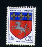 Stamps France -  saint-lo