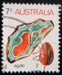 Sellos del Mundo : Oceania : Australia : Agate