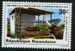 Sellos de Africa - Rwanda -  Año de Proteccion y Consevacion