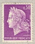Stamps France -  Marianne de Cheffer I
