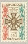 Stamps France -  50 ans Croix de Guerre
