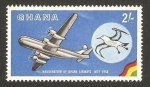 Stamps Ghana -  inauguracion de las lineas aereas de ghana