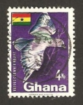 Stamps : Africa : Ghana :  fauna, ave