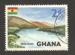 Sellos del Mundo : Africa : Ghana : rio volta