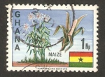 Stamps Africa - Ghana -  Maiz