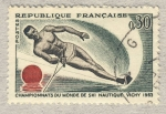 Sellos de Europa - Francia -  Championnats du Ski nautique à Vichy