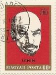 Stamps Hungary -  LENIN