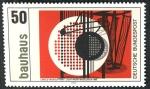 Sellos de Europa - Alemania -  ALEMANIA - El Bauhaus y sitios en Weimar y Dessau