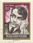Stamps of the world : Hungary :  ADY ENDRE 1877-1919