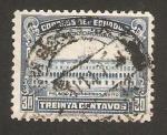 Stamps : America : Ecuador :  palacio del gobierno, en quito
