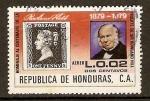 Stamps Honduras -  PERSONAJE  Y  SELLO