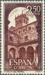 Sellos de Europa - España -  ESPAÑA 1968 1895 Sello Nuevo Monasterio de Sta. Mª del Parral (Avila) Claustro c/señal charnela