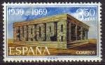 Sellos de Europa - España -  ESPAÑA 1969 1921 Sellos Nuevos Europa-CEPT c/señal charnela