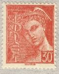 Stamps France -  Mercure 'Poste Française'