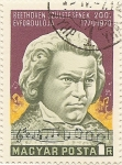Stamps Europe - Hungary -  BEETHOVEN 1770-1970