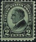Sellos del Mundo : America : Estados_Unidos :  Harding