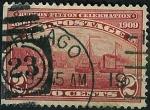Sellos de America - Estados Unidos -  Centenario navegación a vapor