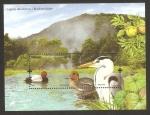 Stamps Europe - Portugal -  lago de las azores, flora y fauna