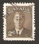 Stamps Canada -  237 - george VI