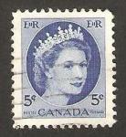 Sellos de America - Canadá -  elizabeth II