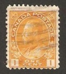 Stamps Canada -  george V