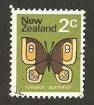 Stamps : Oceania : New_Zealand :  mariposa tussock
