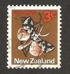 Stamps New Zealand -  fauna, polilla lichen