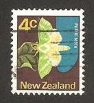 Stamps : Oceania : New_Zealand :  fauna, polilla puriri