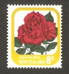 Stamps : Oceania : New_Zealand :  flora, josephine bruce
