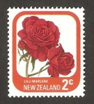 Stamps : Oceania : New_Zealand :  flora, lilli marlene