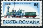 Sellos de Europa - Rumania -  Locomotora