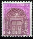 Sellos de Europa - España -  Serie Turistica. Iglesia de Santa Maria de Sangüesa