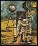 Stamps United Arab Emirates -  Ajman 1969 Apolo 11: Armstrong pisa la Luna
