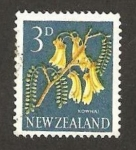 Stamps : Oceania : New_Zealand :  flora, kowhai