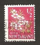 Stamps : Oceania : New_Zealand :  flora, manuka