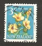 Stamps : Oceania : New_Zealand :  flora, puarangi