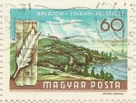 Stamps of the world : Hungary :  BALATON - TIHANYI - FELSZIGET
