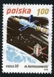 Sellos de Europa - Polonia -  Satélite