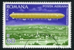 Stamps Romania -  Dirigible