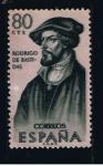 Sellos del Mundo : Europa : España : Edifil  1376  Forjadores de América  Rodrigo de Bastidas