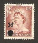 Stamps New Zealand -  isabel II