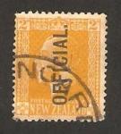 Sellos de Oceania - Nueva Zelanda -  jorge V