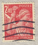 Stamps France -  Iris